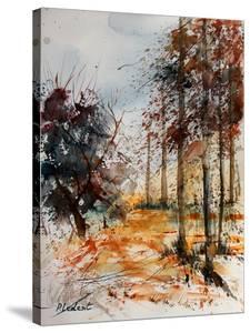 Watercolor 1206 by Pol Ledent