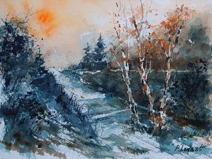 Watercolor 12203 by Pol Ledent
