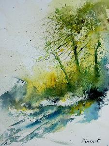 Watercolor 181207 by Pol Ledent