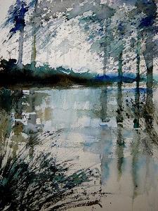 Watercolor 191205 by Pol Ledent
