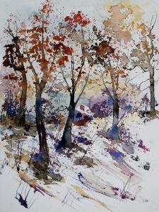 Watercolor 201206 by Pol Ledent