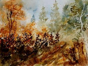 Watercolor 250607 by Pol Ledent