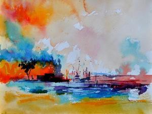 Watercolor 4130301 by Pol Ledent