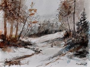 Watercolor 4256 by Pol Ledent
