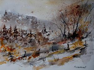 Watercolor 900150 by Pol Ledent