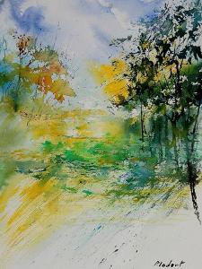 Watercolor 908051 by Pol Ledent
