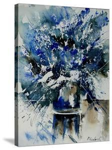 Watercolor Blue Bunch by Pol Ledent