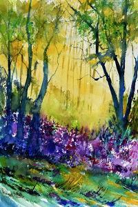 Watercolor Epilobiums by Pol Ledent