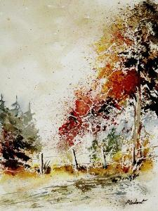 Watercolor Fall by Pol Ledent