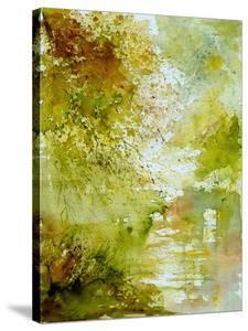 Watercolor Landscape  211005 by Pol Ledent