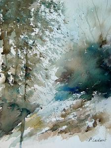 Watercolor landscape 301005 by Pol Ledent