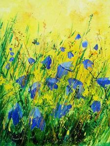 Wild bluebells flowers by Pol Ledent