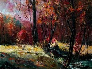 ywoigne in Fall by Pol Ledent