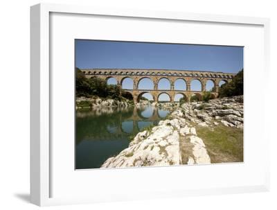 Roman Aqueduct, Vers-Pont-Du-Gard, Languedoc, France