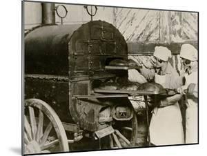 Poland on the Eve of War: Baking Bread in a Field Oven, Warsaw, C.1939