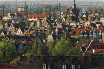 Poland, Pomerania, Gdansk. Town-Walter Bibikow-Photographic Print
