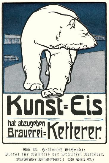 Polar Bear, Art Is Ice--Art Print