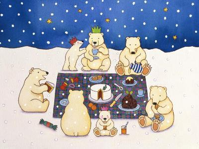 Polar Bear Picnic, 1997-Cathy Baxter-Giclee Print