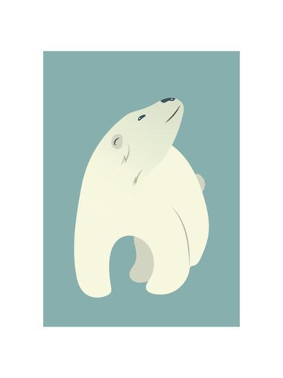 Polar Bear Print-Kindred Sol Collective-Art Print