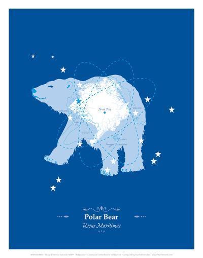 Polar Bear - WWF Contemporary Animals and Wildlife Print-WWF-Art Print