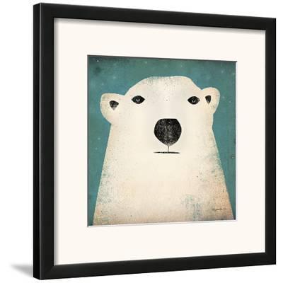 Polar Bear-Ryan Fowler-Framed Art Print