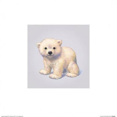 Polar Bear-John Butler Art-Art Print