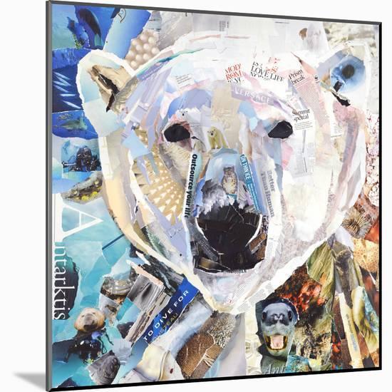 Polar Bear-James Grey-Mounted Print