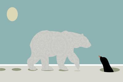 Polar Bear-Teofilo Olivieri-Giclee Print