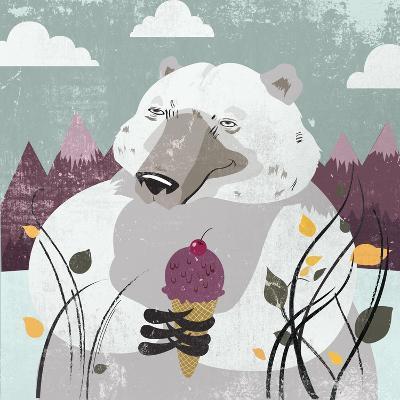 Polar Bear-Anna Polanski-Art Print
