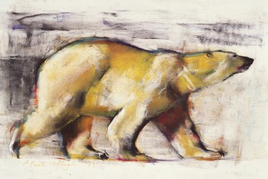 Polar Bear-Mark Adlington-Giclee Print