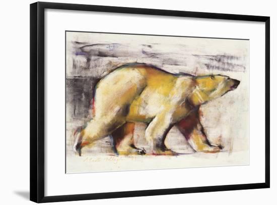 Polar Bear-Mark Adlington-Framed Giclee Print