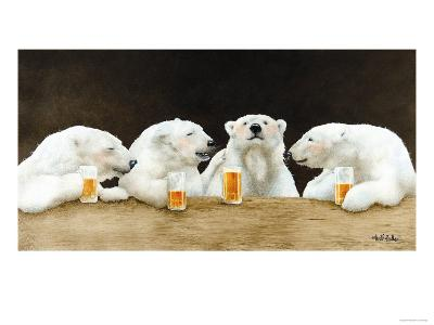 Polar Beers-Will Bullas-Premium Giclee Print
