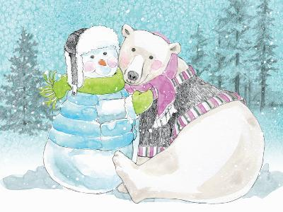 Polar Cap Friends III-Beth Grove-Art Print