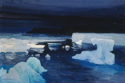 Polar Ice, 1904-Alexander Borisov-Giclee Print