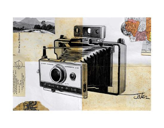 Polaroid Land Camera-Loui Jover-Art Print