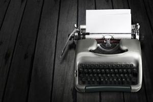 Antique Typewriter by Policas