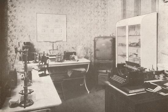 'Police Bacteriological Laboratory', 1914-Unknown-Photographic Print