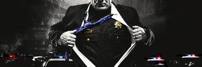 Police Hero-Jason Bullard-Giclee Print