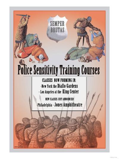 Police Sensitivity Training Courses--Art Print