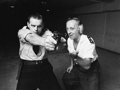 Police Shooting Range--Photographic Print