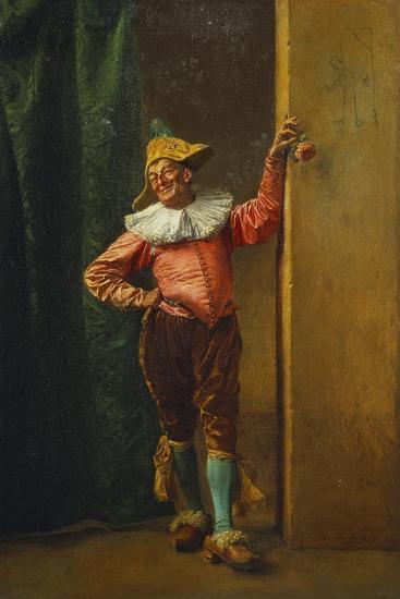 Polichinelle in Pink, 1879-Jean-Louis Ernest Meissonier-Giclee Print