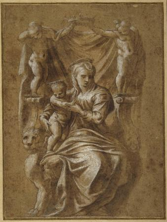 The Madonna and Child Enthroned