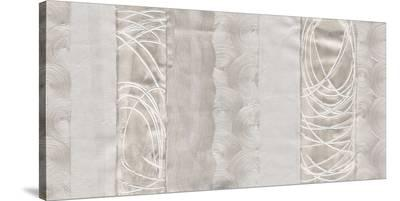 Polished Silver Panel-Ethan Harper-Stretched Canvas Print