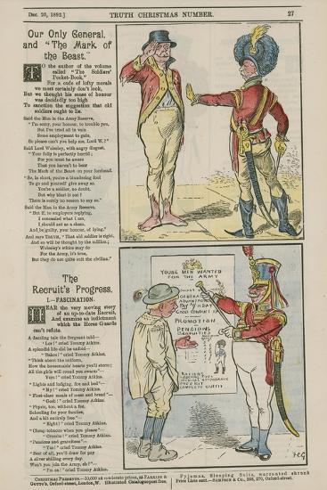 Political Cartoons--Giclee Print