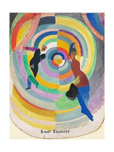 Political Drama, 1914-Robert Delaunay-Giclee Print
