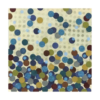 Polka Dot Blues I-Jeni Lee-Art Print