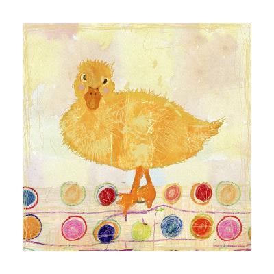 Polka Dot Duck-Ingrid Blixt-Art Print