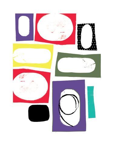 Polka Shapes-Catherine Aguilar-Giclee Print