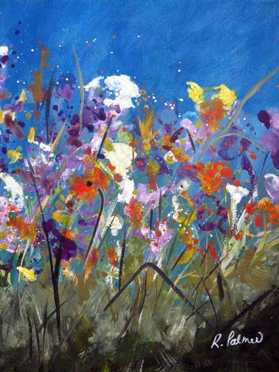 Pollen Party 2-Ruth Palmer-Art Print