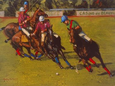 Polo At Deauville-Henry Koehler-Art Print
